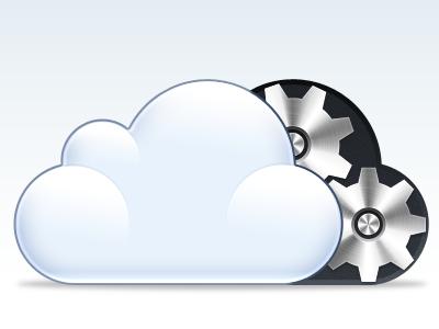 iCloud Settings icloud settings icloudsex cogs gears cloud icon