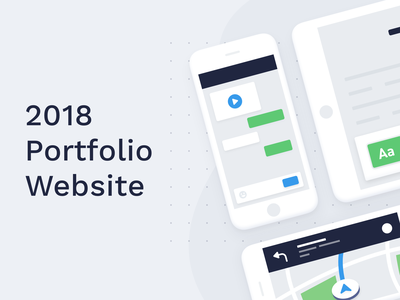 Kubilay Sapayer 2018 Portfolio Website icons uiux ui website 2018 portfolio