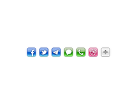 Sexy 32px iOS styled icons