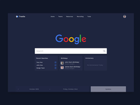 Internal Employee Tool - Search to home interaction