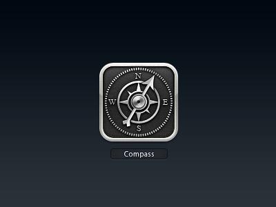 Compass icon for mojo
