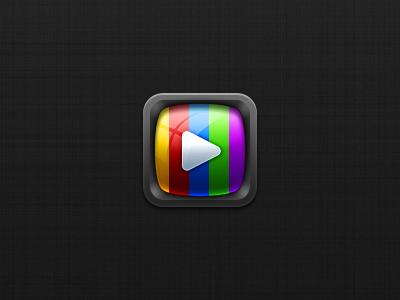 Telly iOS app icon ios app telly icon