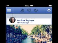 Facebook for iOS redesign
