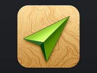 Location iOS icon