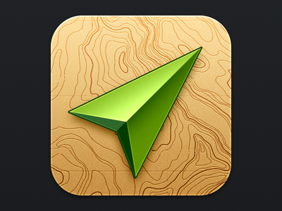 Location iOS icon ios icon location maps topograhic