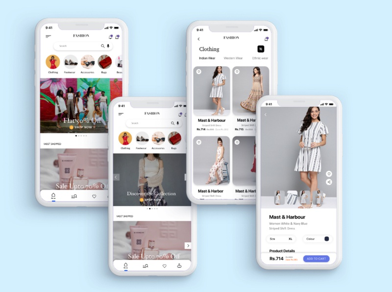 E-commerce app branding app adobe xd illustration adobexd design adobe photoshop uxui ux ui