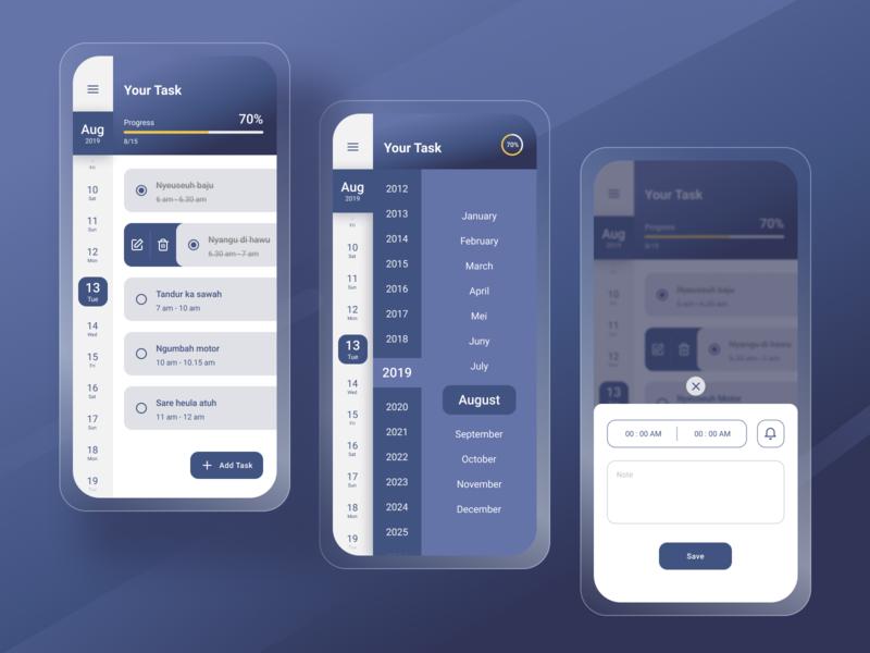 Simple Task Management figmadesign mobile ui mobile design mobile app figma design figma webdesign ux uiux ui