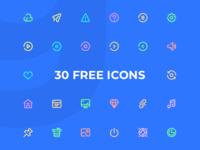 Freebies: 30 General Icons