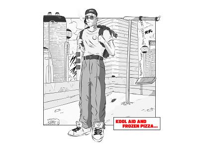 Mac Miller + Dragon Ball MIX 🎤 🐉 ✨ son goku anime music rap hiphop crossover mac miller dragon ball manga