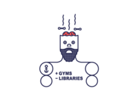 + Gyms - Libraries