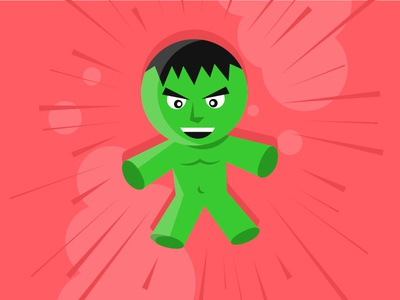 Baby Hulk vector comic marvel hulk