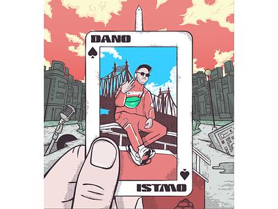 Dano - Itsmo texture vector cover rap hip hop
