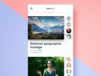 Bamboo - Video Collaboration app Concept