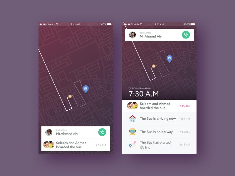 Taaleem  - School Bus Tracking map app tracking bus school
