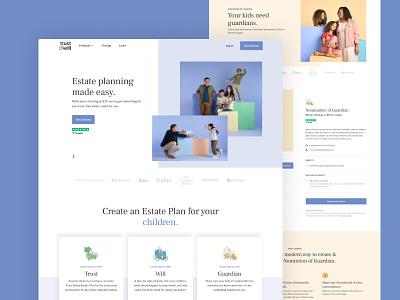 Trustandwill.com estate plan estate planning redesign website