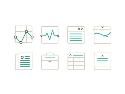 Branding Icons icons business work web wellness knowledge