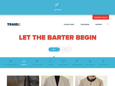 Traidz exchange web barter traidz