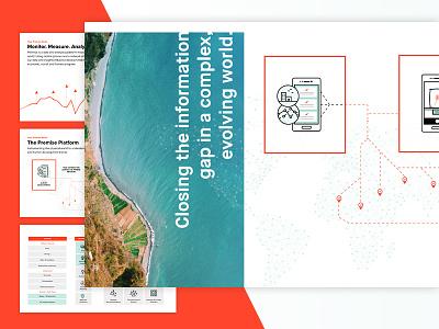 Premise Data Story info infographic diagram story slides presentation data illustrations