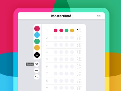 Mastermind ux  ui mastermind game