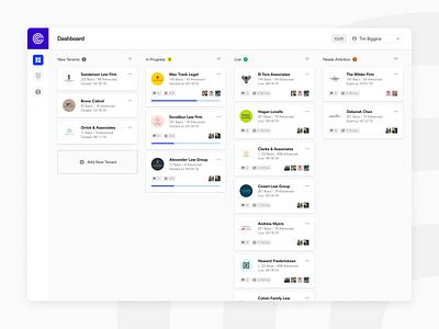Callstring – Host SaaS Onboarding Dashboard saas startup modern product design ui