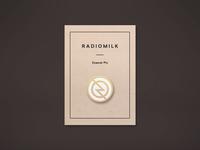 Radiomilk Enamel Pin
