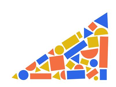 Accidental Pizza composition minimalist pizza graphic design