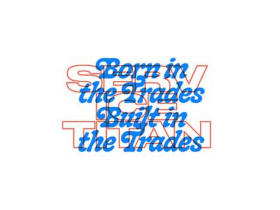 ST Type Explo type lockup graphic design graphic typography