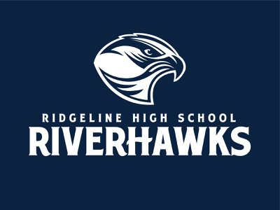 Ridgeline Riverhawks Logo art illustrator icon vector design branding illustration logo design logos logo