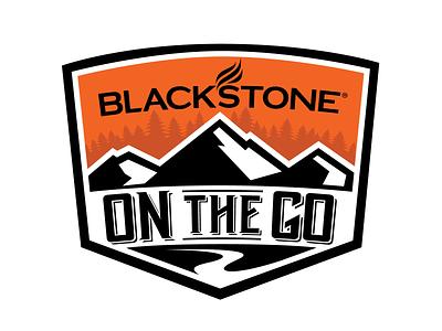 Blackstone On The Go Badge brand identity design badge brand vecotr logo design branding logo