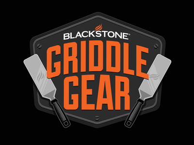 Blackstone Griddle Gear Logo badge icon art logo design vector brand identity brand design branding brand logo