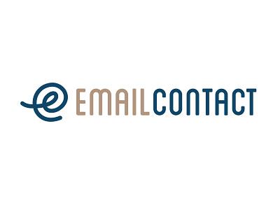 Email Contact Logo logos typography brand design icon design brand identity branding logo design logo