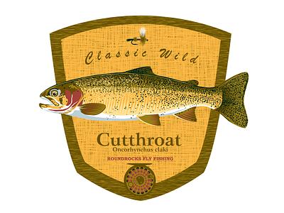 RoundRocks Fly Fishing Shirt Designs digital art design apparel graphics apparel design tee shirt design