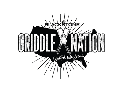 Griddle Nation Shirt Design brand design badge vector branding tee design tee shirt