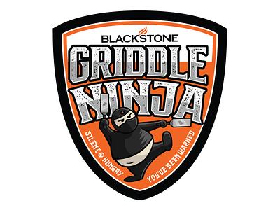 The Three Chubby Ninja Stickers logos icon logo design logo design vector badge graphic design illustration sticker design sticker stickers