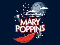 Mary Poppins Jr. Shirt Design