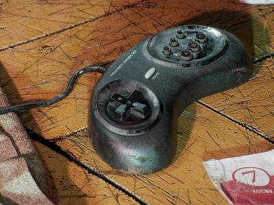 Broken Nostalgia #1 octane substance3d 3d modeling 3d ilustration cinema4d 3dart retro vintage 3d