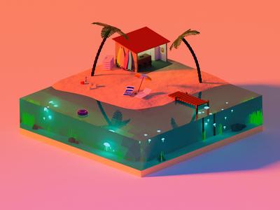 Isometric Beach V2