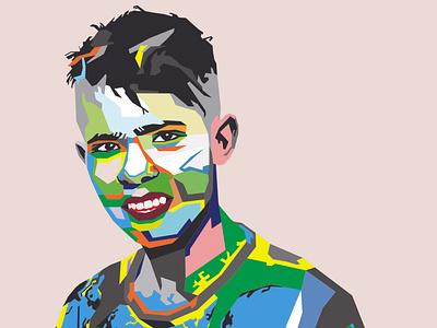 Vector Face vector graphic vector design vector portrait potrait vector art vectorart vectors vector