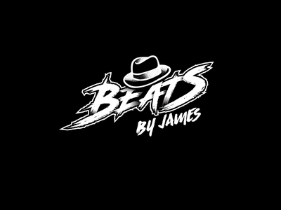 Beats by James aggresive branding logo music
