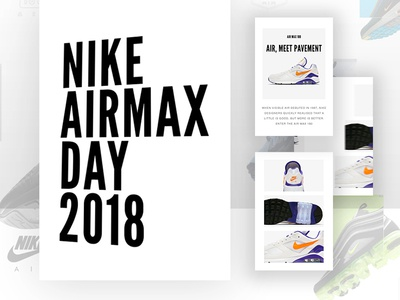 Airmax Day 2018 | Title design