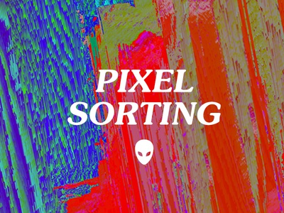 Animating pixel-sorting