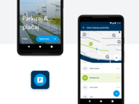 Android parking app