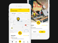Food App - Map & Details