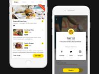 Food App - Menu & Check In