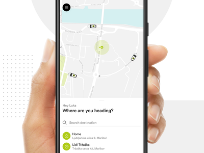 Cammeo - Get A Ride ui ux app android android app taxi ui  ux design mobile app ridesharing ride uber lyft