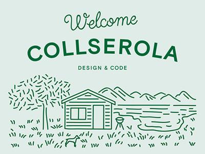 Welcome Collserola code design web barcelona woodhouse mountain collserola