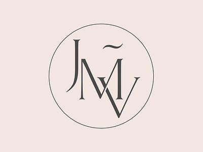 Joaquim Muñoz Vidal Monogram surgeon plastic healthcare skin letters doctor heraldic classy monogram