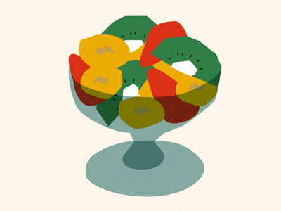 Macedonia food colors draw fruit macedonia