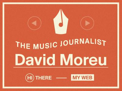 The Music Journalist writer logo web music journalist