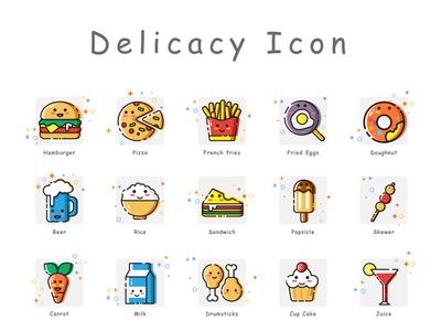 Delicacy Icon